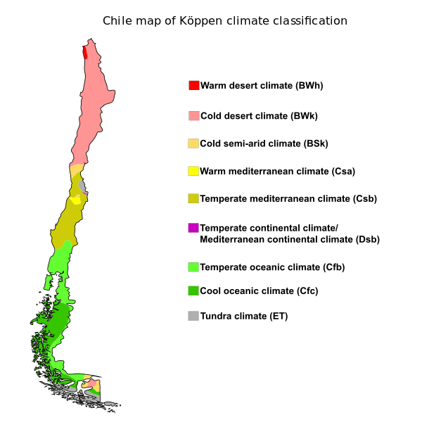 koppen-chile-climate-classification